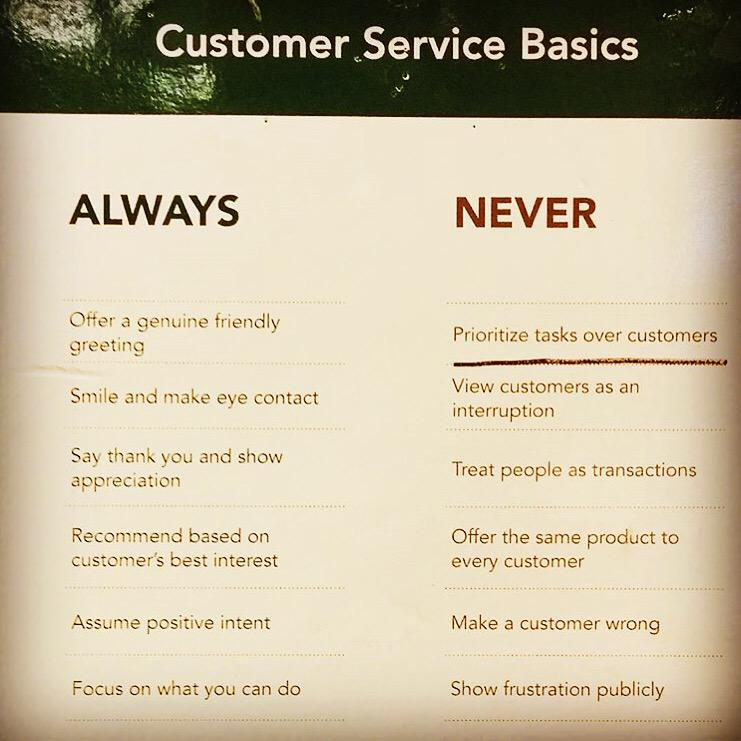 at t customer rules With that said, doing social customer care right goes beyond just responding on twitter or facebook you need to create an infrastructure that supports scale and is strong enough to withstand crises.