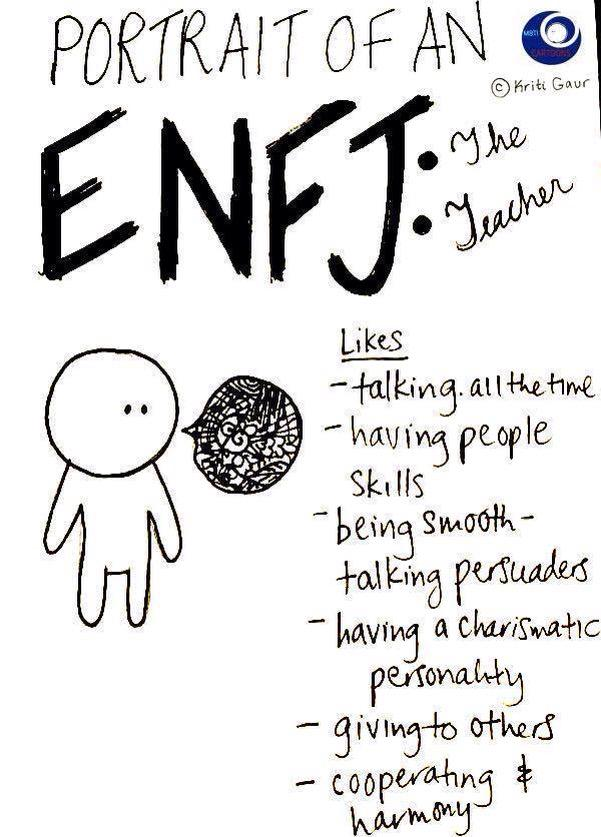 enfj personality type people