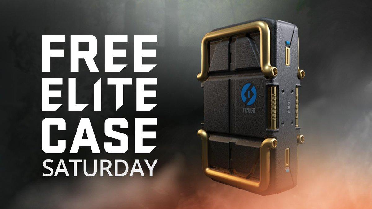 Free Elite Case Saturday