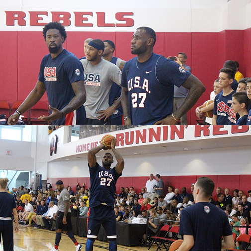 Another day in #UNLVmbb Mendenhall Center-- Home of @TheRunninRebels http://t.co/xJDkw6JiLi
