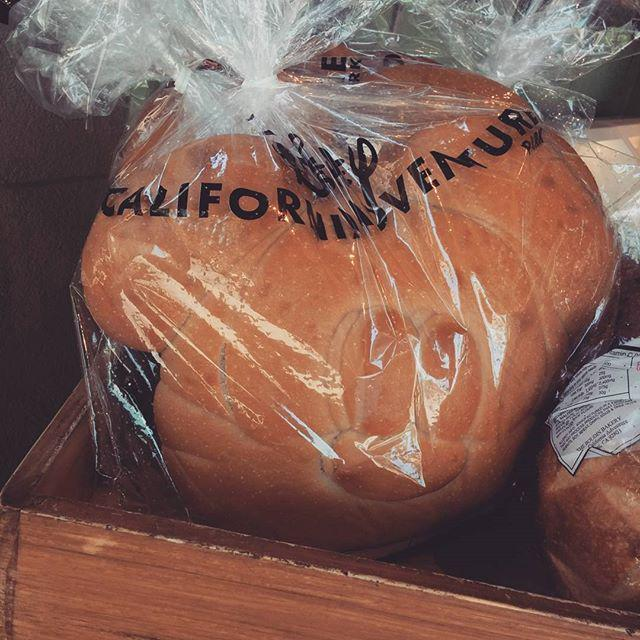 Haven't seen this before. Mickey Mouse Sourdough Bread! I have to buy one later. :) @DisneylandToday http://t.co/5sn8rXk8Q3