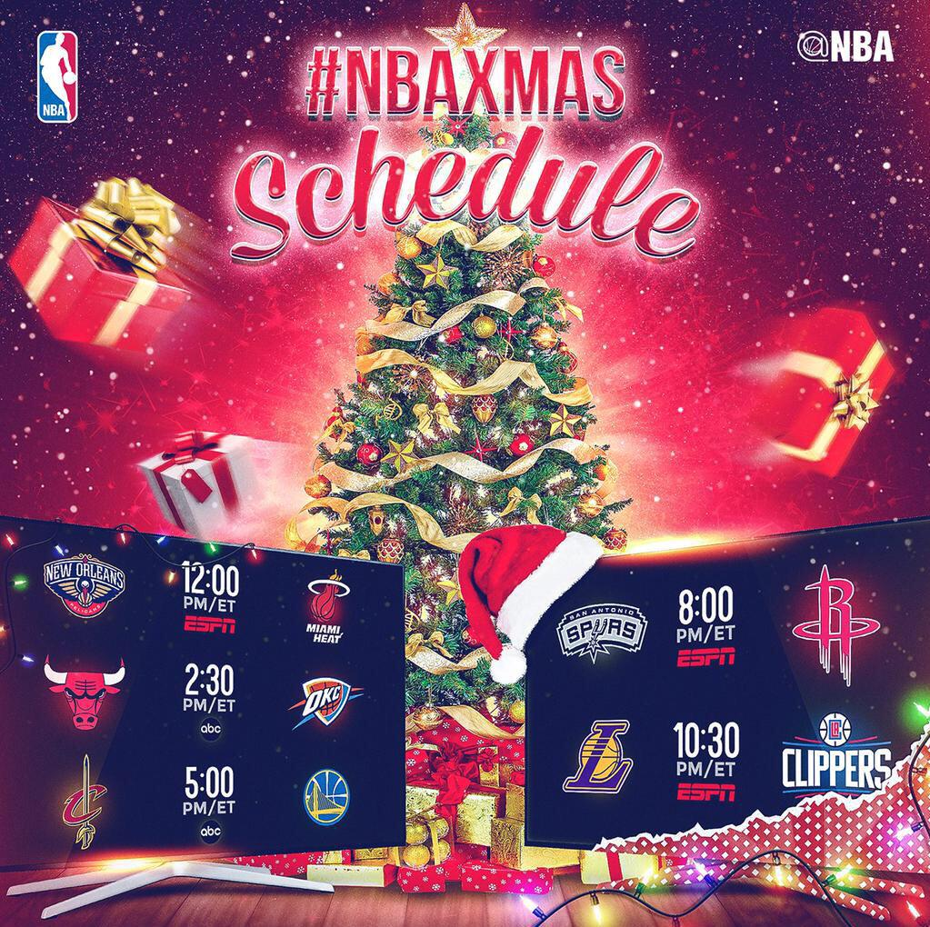 Nba Christmas Day Schedule.Nba Skits On Twitter Nba Christmas Day 2015 Schedule