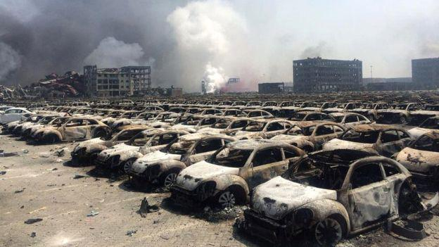"Cina Tianjin: ""fuga di cianuro di sodio"" per Greenpeace"