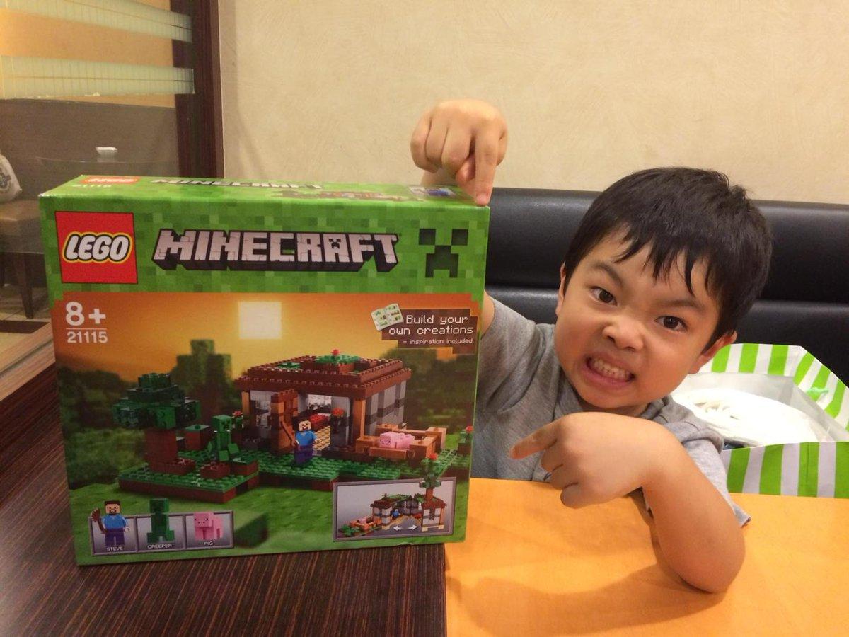 こういう危険なコラボが。とはいえ、マイクラ中毒をレゴに引き戻す切り札でもある http://t.co/snidSTQ3T2