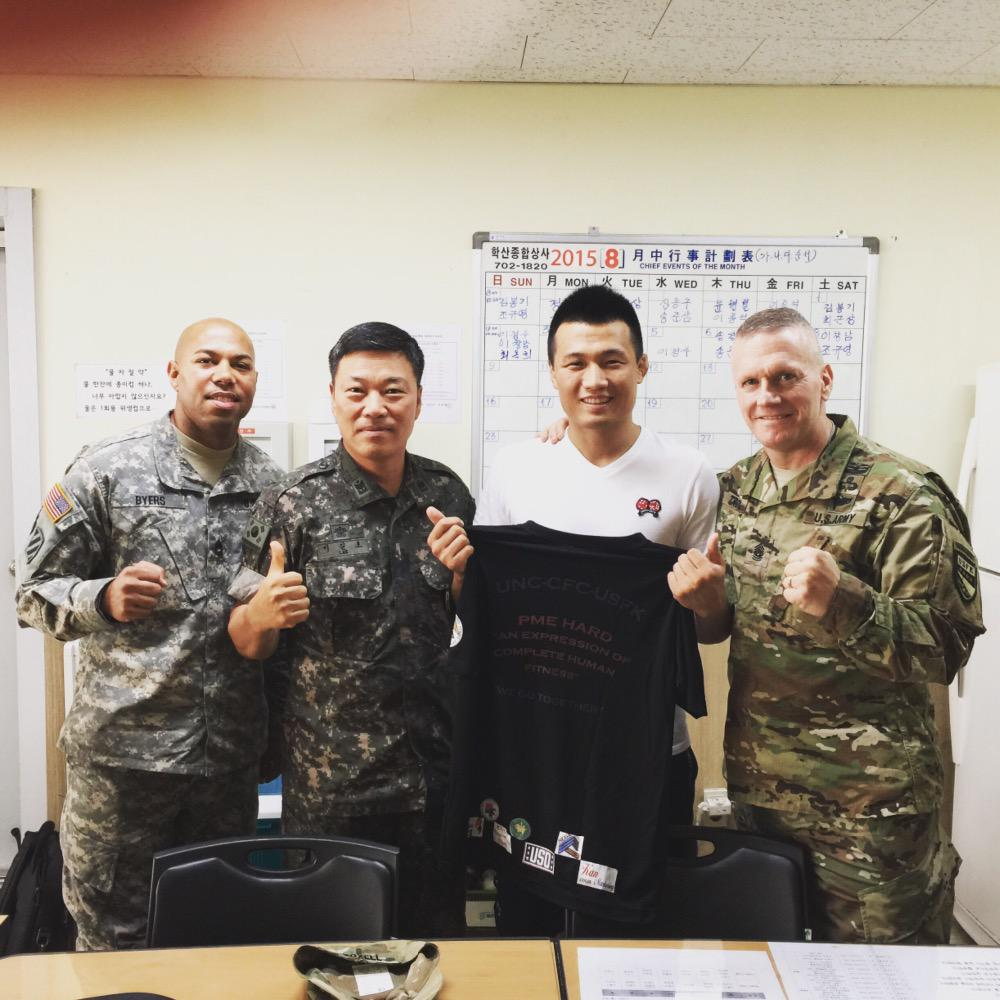 @danawhite @patmiletich @PAngererUSA @ColtonSmithMMA went to see a good friend today @KoreanZombieMMA he's doing well http://t.co/d0g4uJraqk