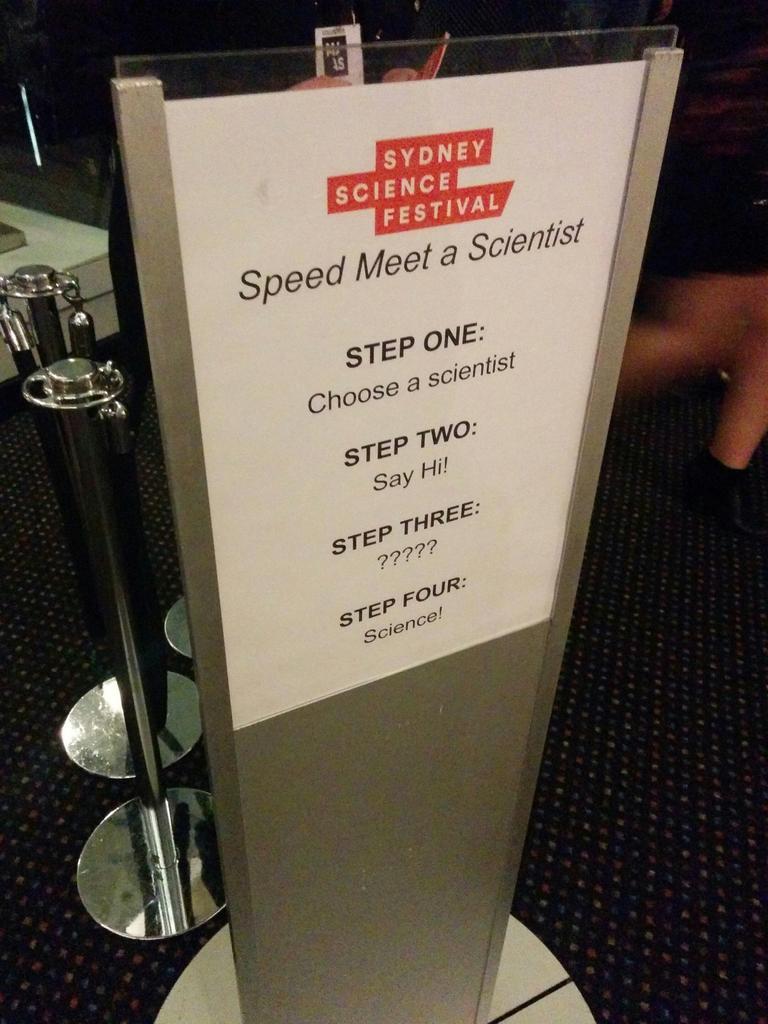 Speed Meet a Scientist!