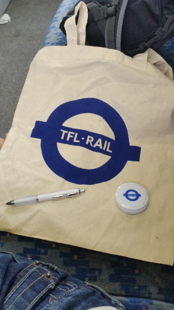 CMR5byXWIAEhfcn - Bearing the gifts of TfL Rail...