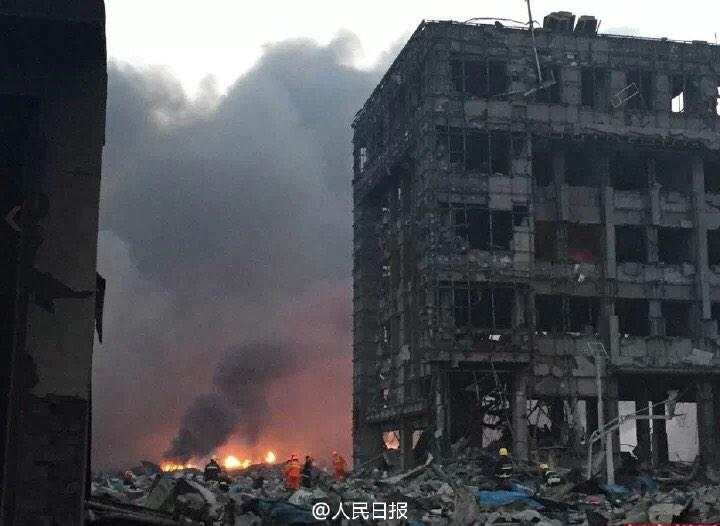 War zone #tianjin http://t.co/CiySwCOFXl