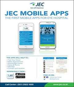 Download JEC Mobile Apps di Google Play atau App Store! Nikmati fitur &quot;Knowledge Center&quot;. #jakartaeyecenter #JEC<br>http://pic.twitter.com/wF4U2axk0B