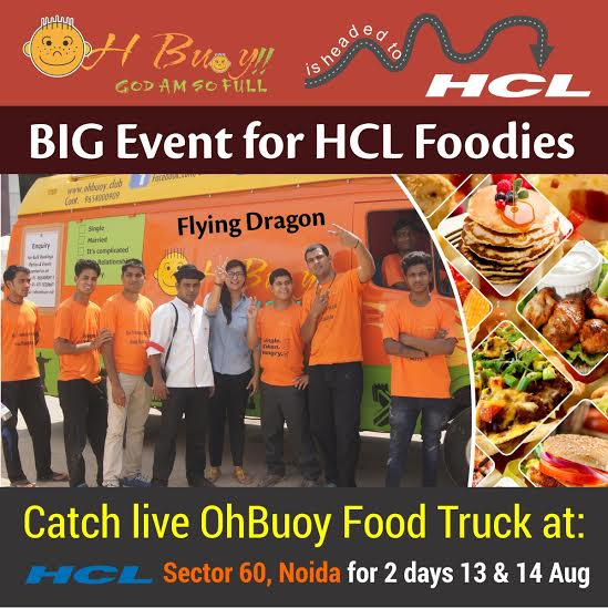 Oh Buoy Food Truck On Twitter Hey Hcl Foodies We Are Available