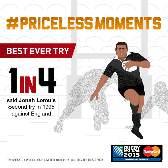 Jonah Lumu's rampaging try against England in '95 named best try ever scored at #RugbyWorldCup #PricelessMoments http://t.co/tq51iSrmZW