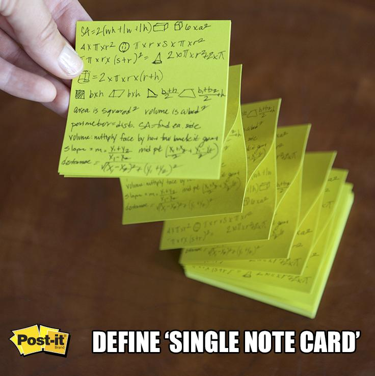 Some call it sneaky, we call it innovative. #Postit #collegelife http://t.co/ynhzTgq0I1