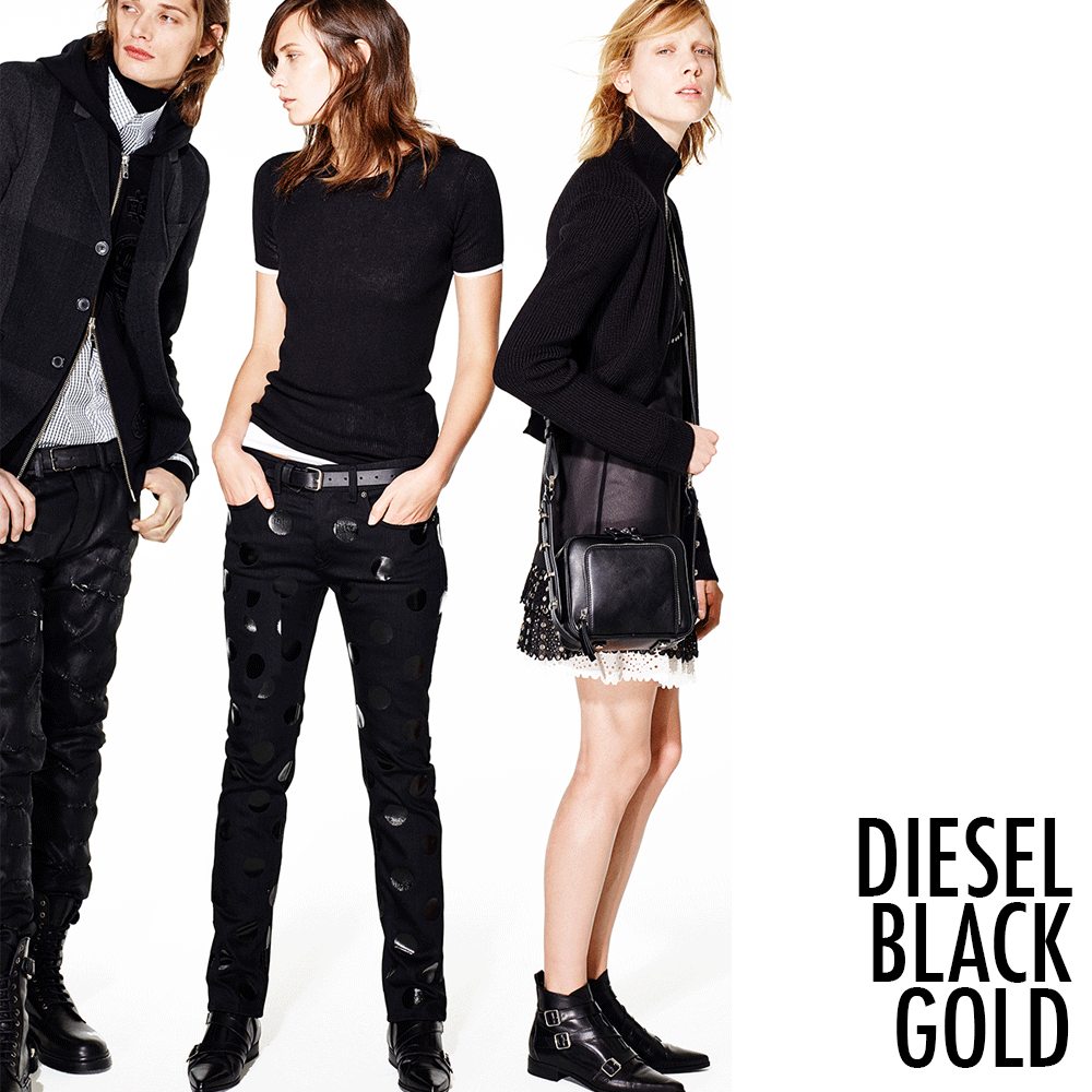 Rocking with @DieselBlackGold this #fall! Shop your #punky items here:  http://bit.ly/DBlackGold