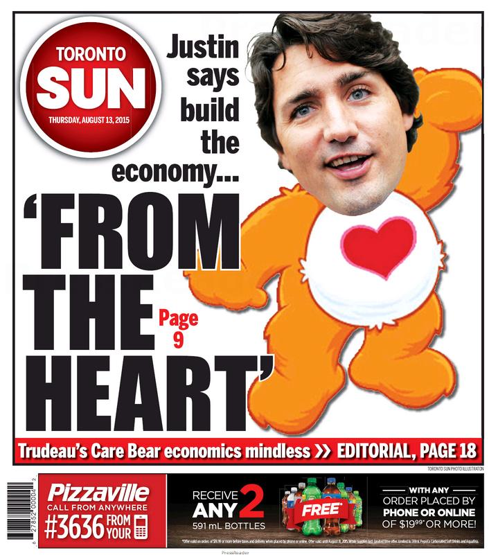 "Nobody Knows What To Make Of Justin Trudeau's Plan To Grow The Economy ""From The Heart"""