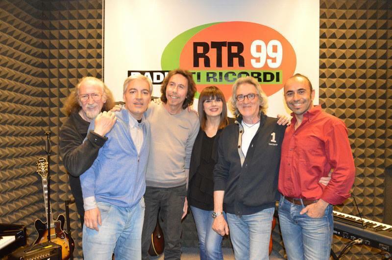 Foto Giancarlo Golzi in Radio RTR 99