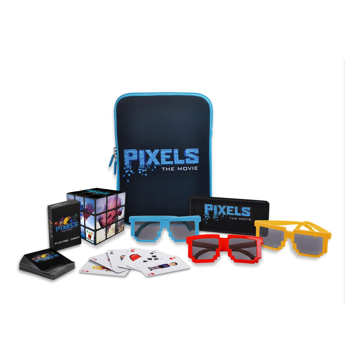 Game on! RT to win a goodie bag bursting with #PixelsMovie merch for you & a mate! Enter by 160815 http://t.co/mttKTglKsS