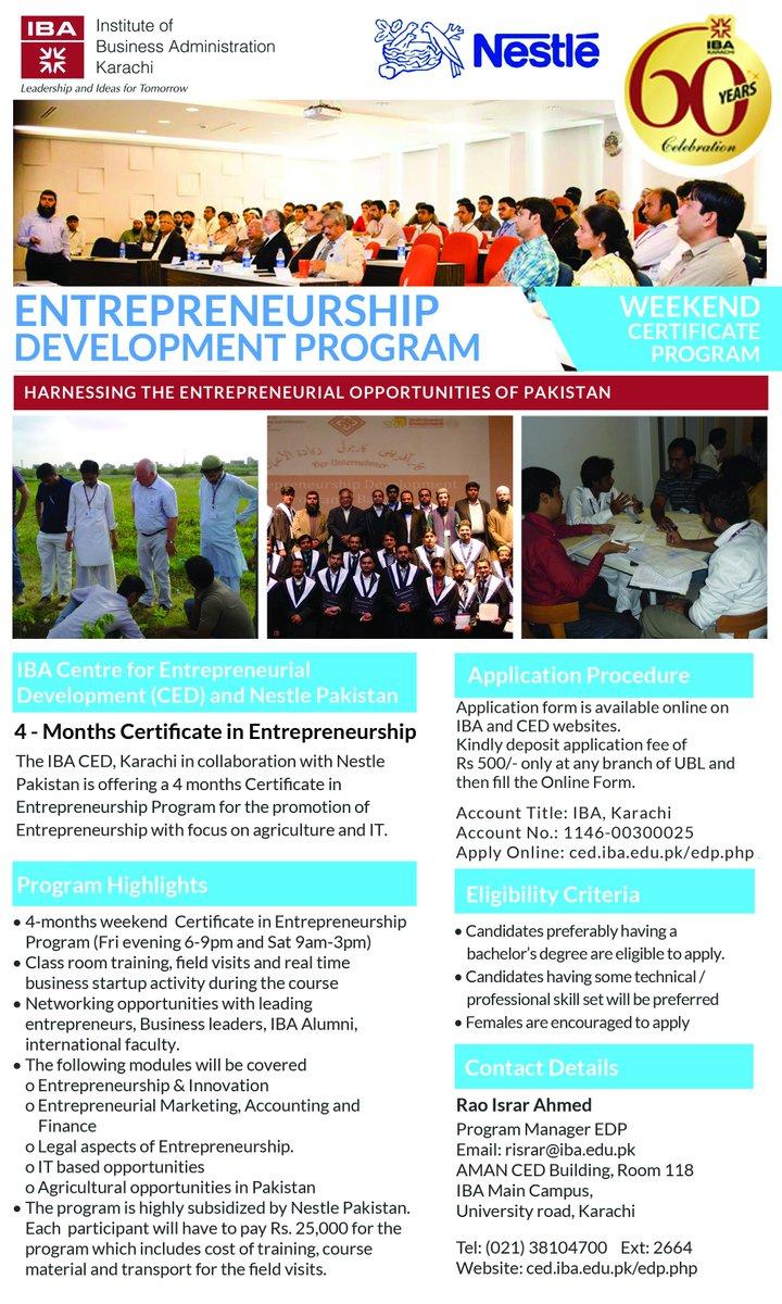 Iba Karachi On Twitter Weekend Certificate Program In