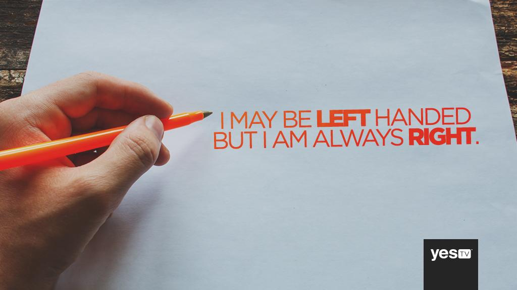 Today is International #LeftHandersDay! RETWEET if you're #lefthanded! http://t.co/7NvLDddQBp