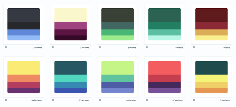Color Hunt is a curated collection of beautiful colors, updated daily. Pretty! http://t.co/EtqhpGzNmJ http://t.co/3VsjlSCFve
