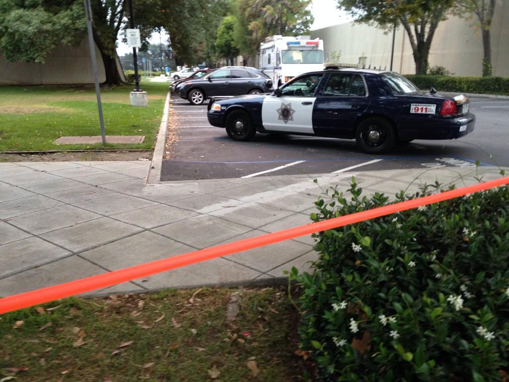 San Jose: Breaking news  San Jose police at murder scene