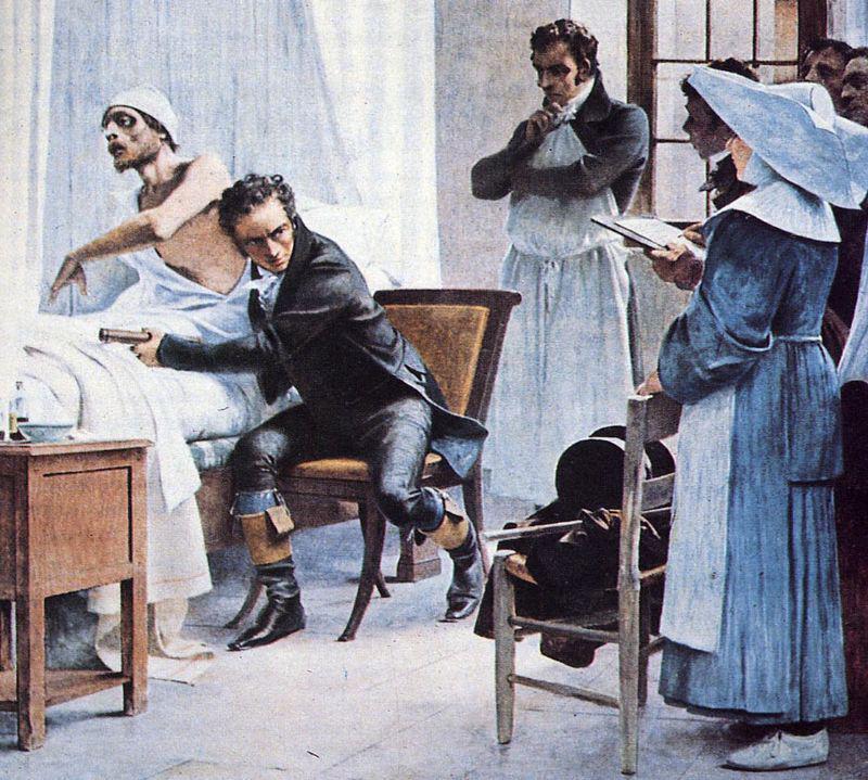 Rene Laennec: compie 235 anni l'inventore del stetoscopio