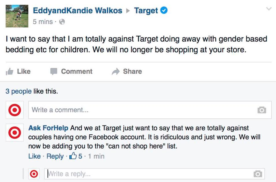 target is ruthless!