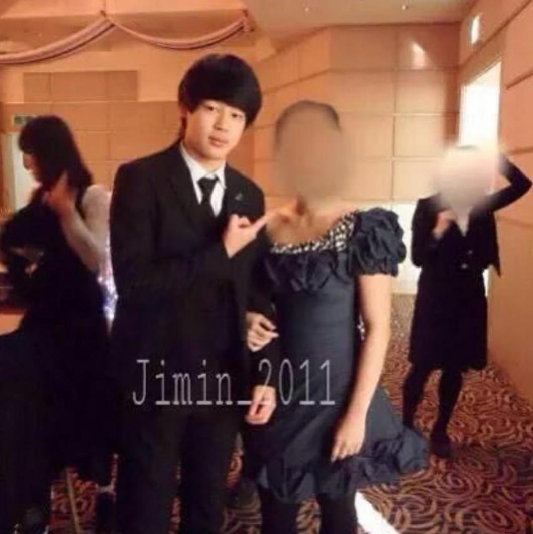 genevieve on twitter predebut jimin and his old girlfriend smh why