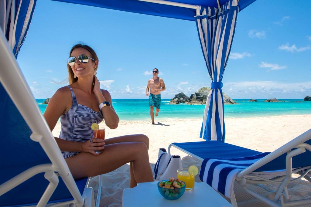 Fairmont Southampton On Twitter Private Beach Cabana Don T Mind If We Do Bermuda Http Co Cymkroww0e