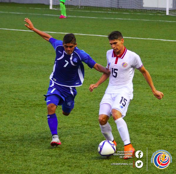 Eliminatorias UNCAF 2015 - Olimpicos Brasil 2016: El Salvador 0 Costa Rica 0. CMU7tCoUkAAEJnP