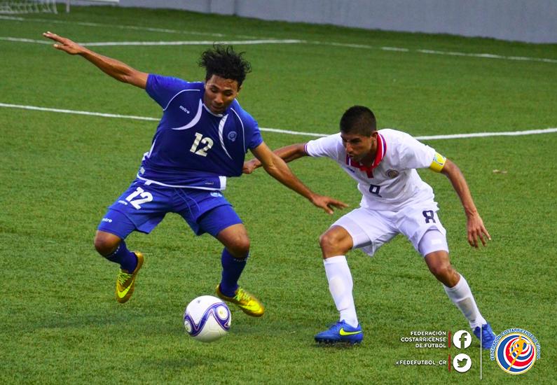 Eliminatorias UNCAF 2015 - Olimpicos Brasil 2016: El Salvador 0 Costa Rica 0. CMU7tgGUwAAlJ8b