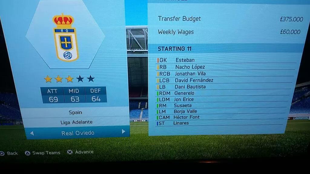 REAL OVIEDO FIFA16