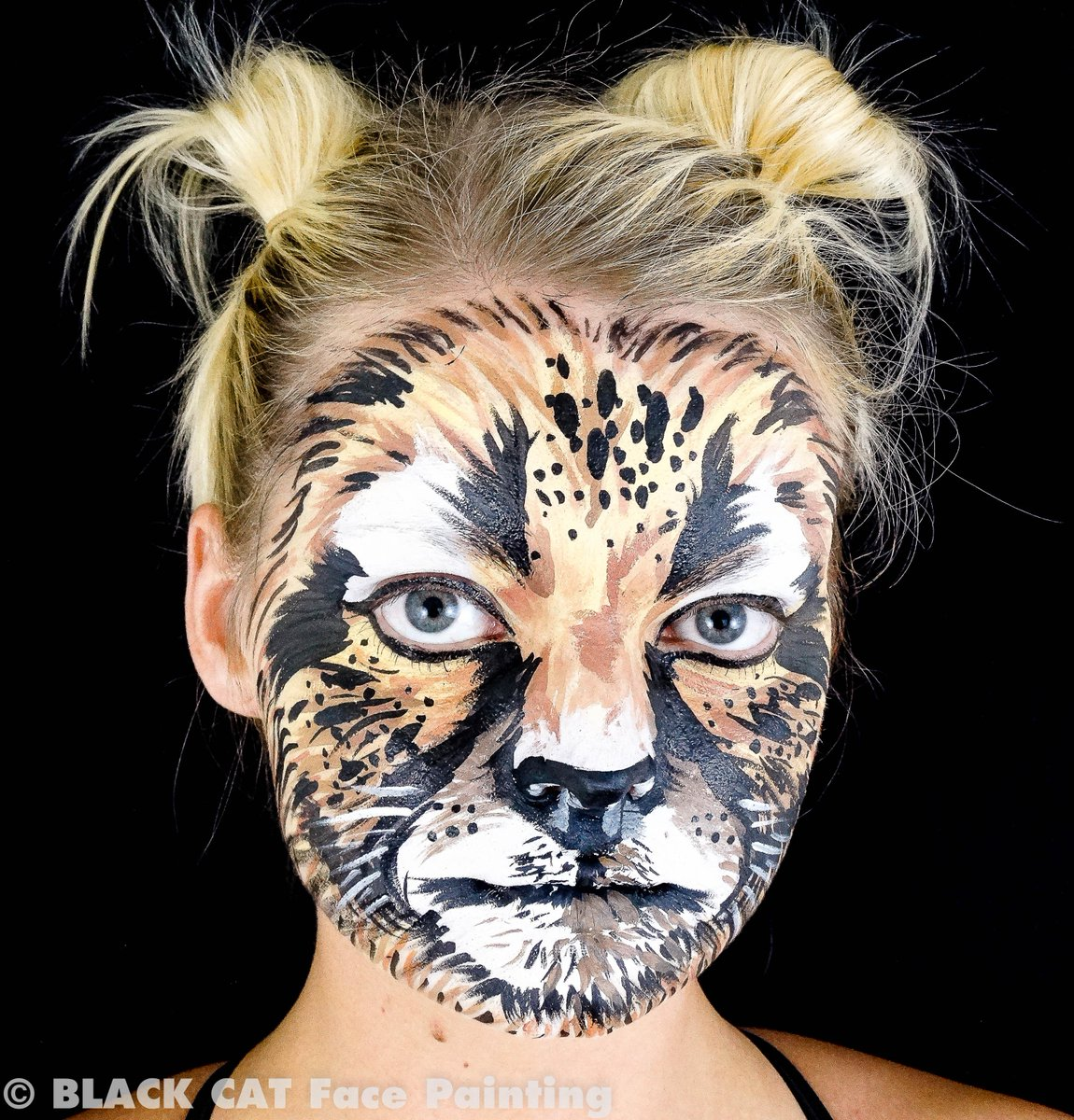 face painting cat - HD1150×1200