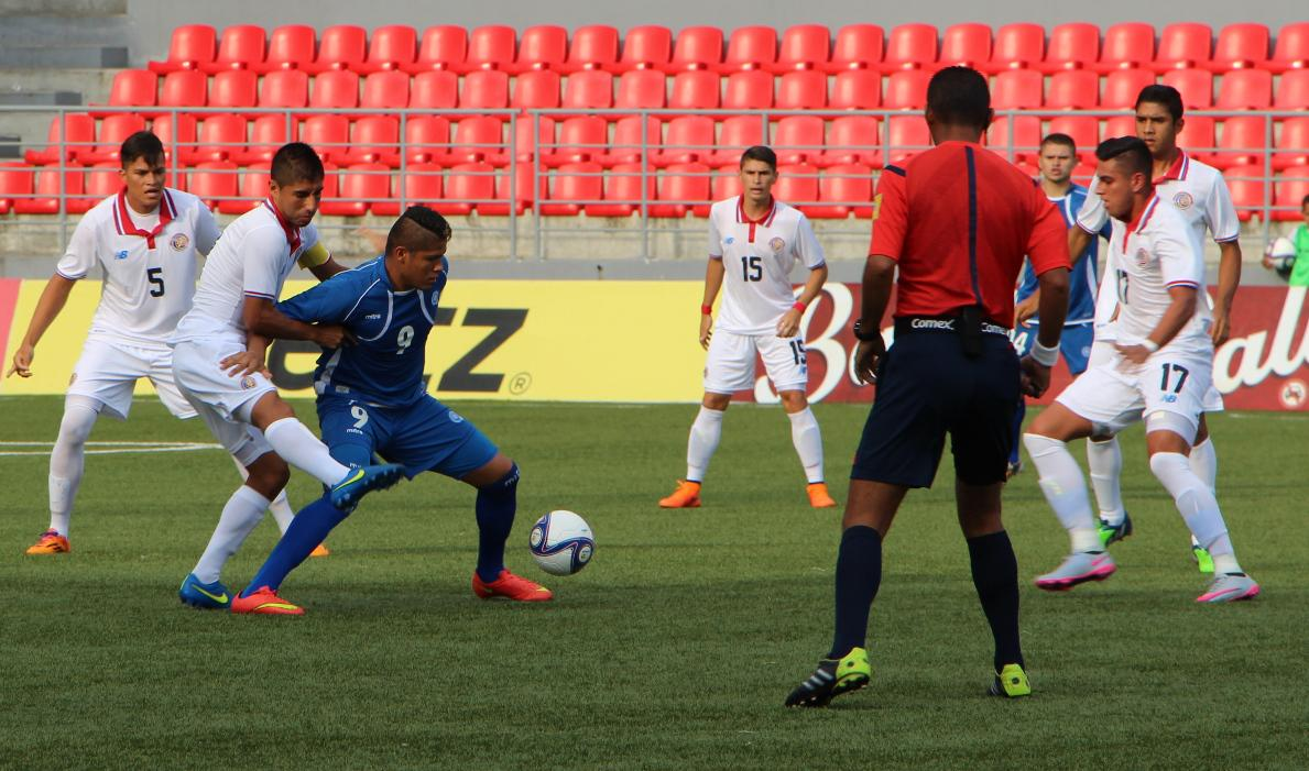 Eliminatorias UNCAF 2015 - Olimpicos Brasil 2016: El Salvador 0 Costa Rica 0. CMUrp8BU8AAKJXs