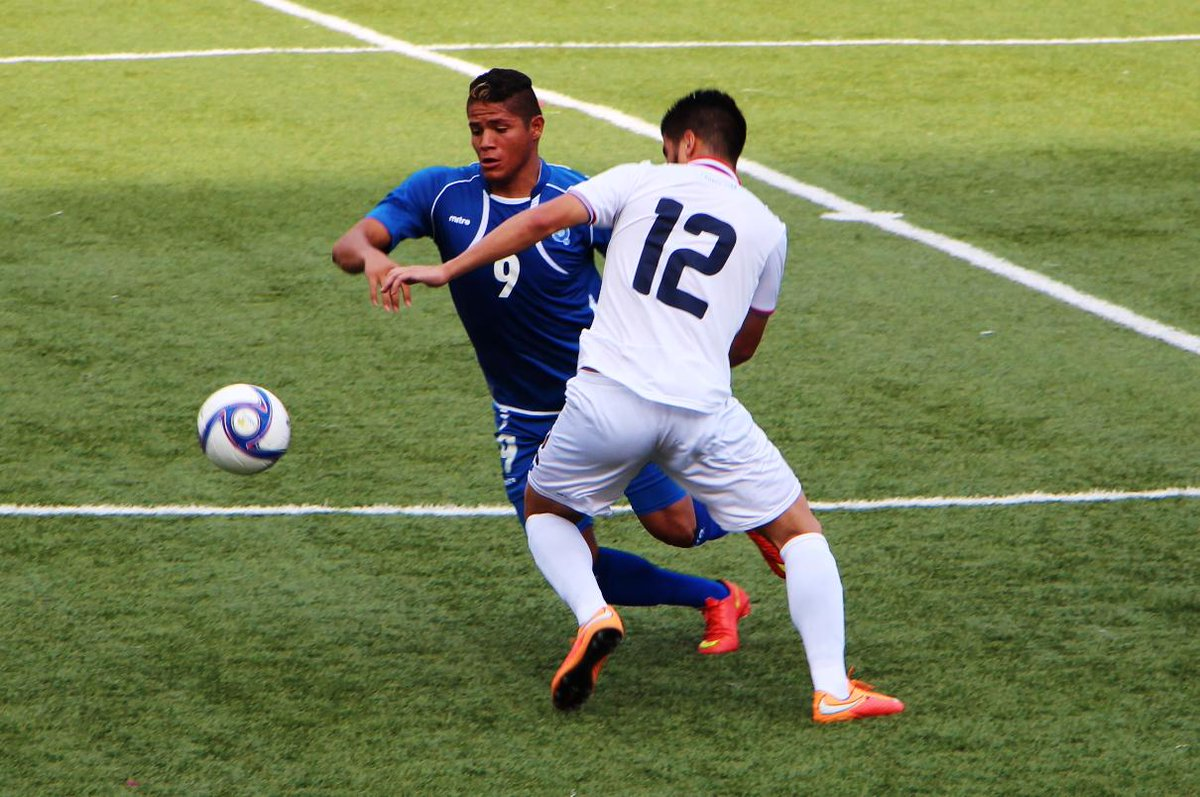 Eliminatorias UNCAF 2015 - Olimpicos Brasil 2016: El Salvador 0 Costa Rica 0. CMUrqXwU8AAa7Ov