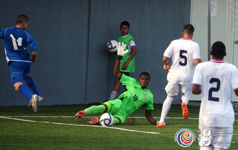 Eliminatorias UNCAF 2015 - Olimpicos Brasil 2016: El Salvador 0 Costa Rica 0. CMUxiCBUsAE2YaT