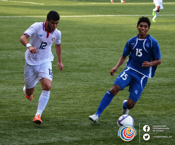 Eliminatorias UNCAF 2015 - Olimpicos Brasil 2016: El Salvador 0 Costa Rica 0. CMUxjx6UwAEPbjK