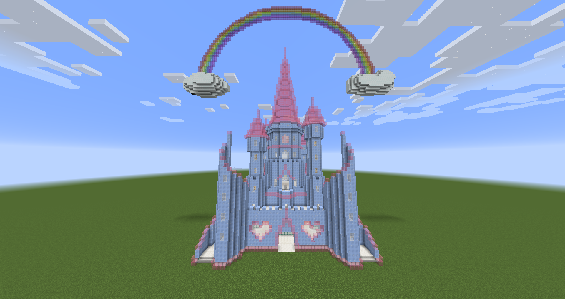 Dana on Twitter Finished the exterior of my Ice Princess Castle