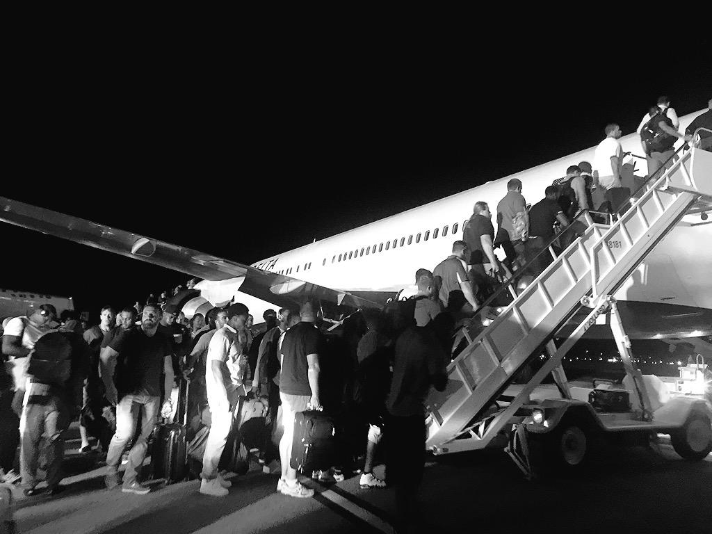 Heading back to Green Bay with a win. #PackersBusinessTrip #GBvsNE http://t.co/zBc2166LQ7