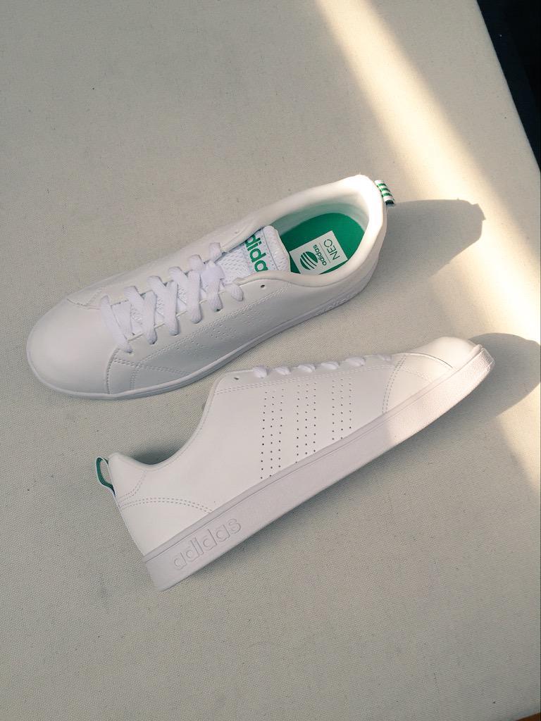 Adidas Neo White Green