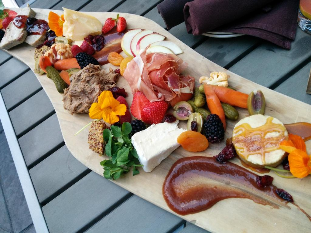 .@TheAlbionRooms my dinner companion's first charcuterie board was yours. He's blown away! Cc @TheSKLaSalle http://t.co/OgpGz6xf7Q