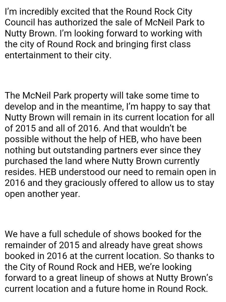 Big news about Nutty Brown Cafe! http://t.co/wkEt2WvoP2