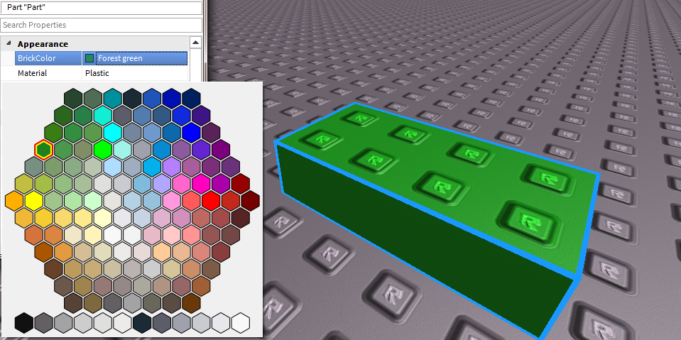 Roblox Dev Tips On Twitter The Brickcolor Palette Has Been
