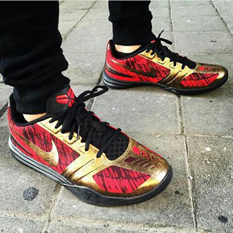 Nike Kobe Mentality 'Chilling Red/Gold