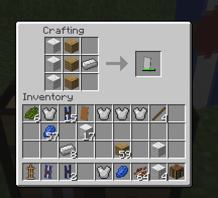 Crafting Shield Minecraft