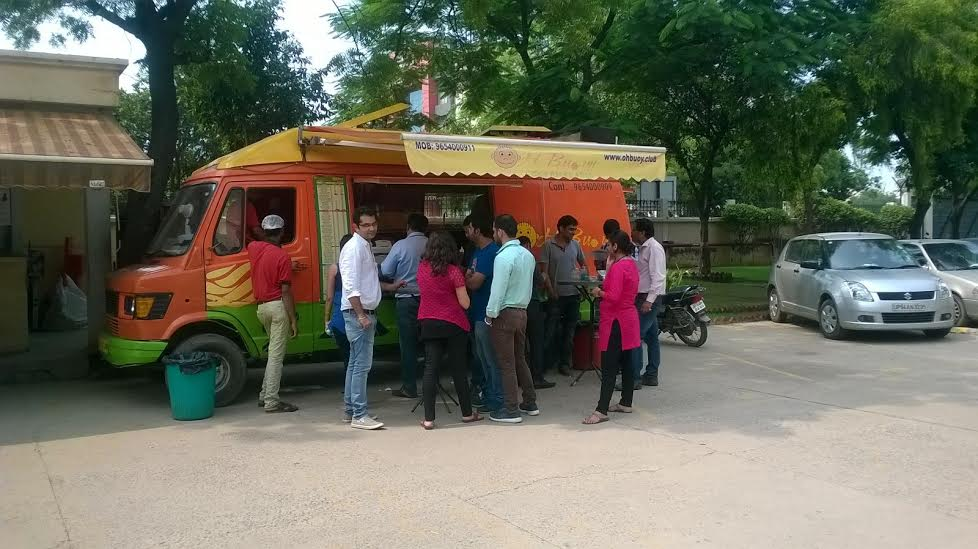 Oh Buoy Food Truck On Twitter We Are Parked At At Hcltech Sec 60