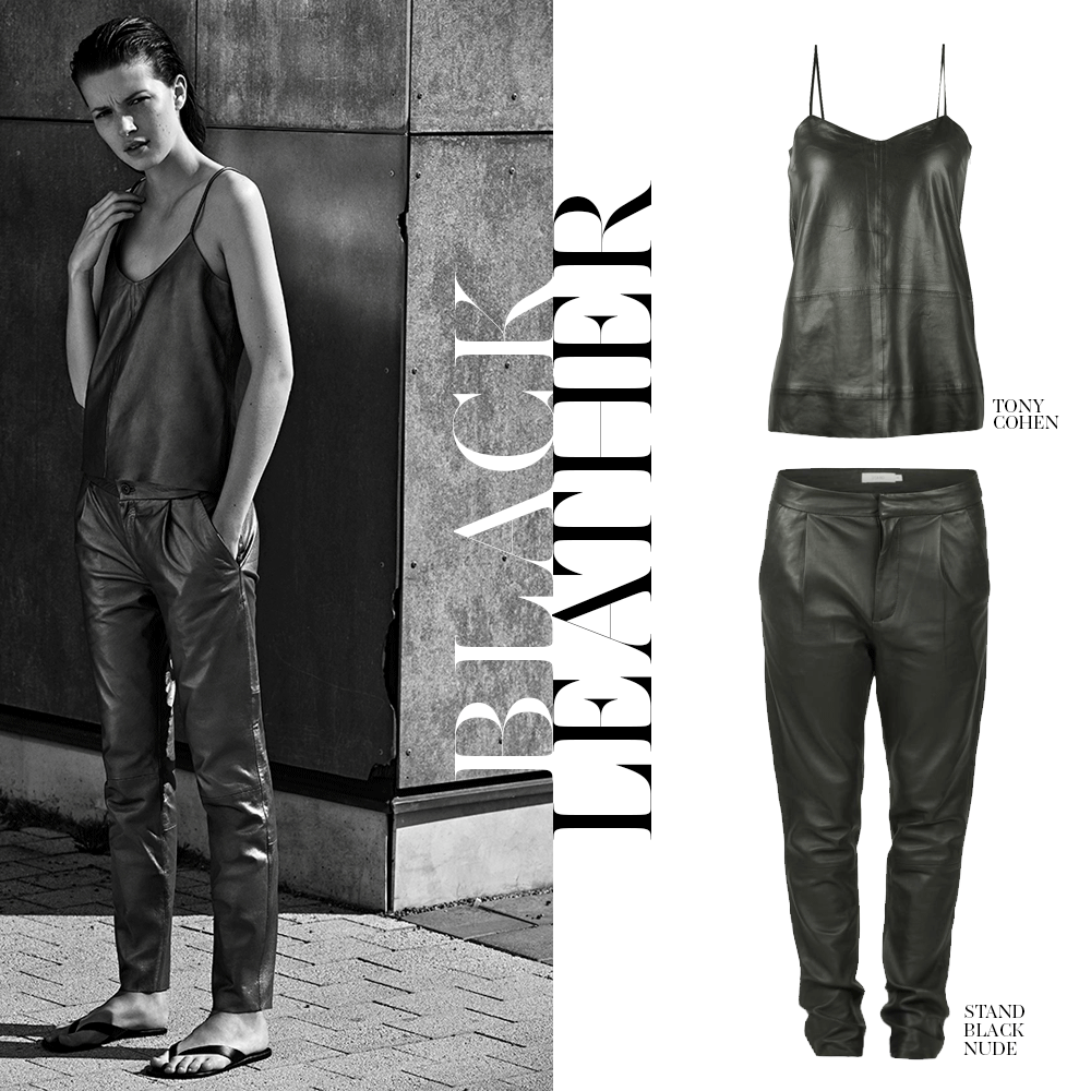 Loving the tough leather looks of STAND BLACK NUDE! Get them here: http://bit.ly/standUN