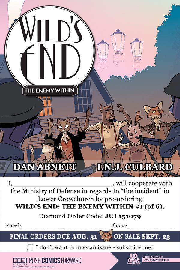 Wild's End: The Enemy Within is coming soon: http://t.co/vmTYYePPcD