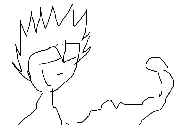 Goku Niño Para Colorear: Dibujos Para Colorear De Dragon Ball Super