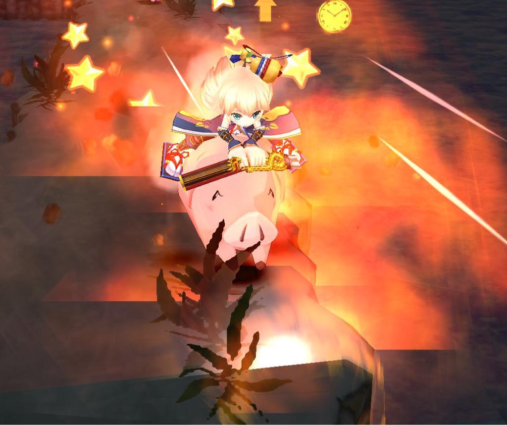 【白猫】メリオダス武器スキル「ホークアタック」画像集!ホークに乗ったタコパスが美味しそうwwwww【プロジェクト】