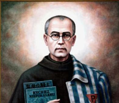 Today: St. Maximilian Kolbe, a saint who gave his life to save a parent http://t.co/oDvchNRQTF http://t.co/3p2raYHNlX